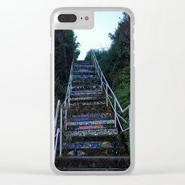 Staircase of Color Clear iPhone Case