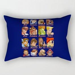 World Warriors Rectangular Pillow