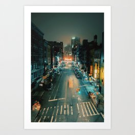 A Beam of Light Art Print