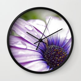 Purple Bliss Wall Clock