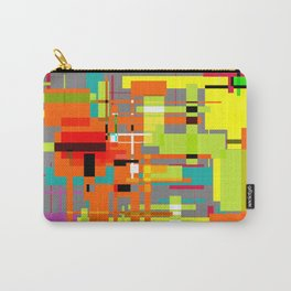 Lines and Sqaures Carry-All Pouch