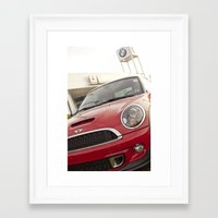 mini Framed Art Prints featuring Mini by SShaw Photographic