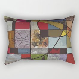 Circle of Colors Rectangular Pillow