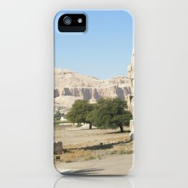 The Clossi of memnon at Luxor, Egypt, 2 iPhone Case