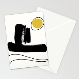 Tokyo Oceanscape Abstract Stationery Cards