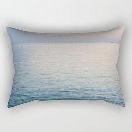 Sunset in the Bay of Naples Rectangular Pillow