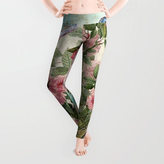 Tea Flower #1 Leggings