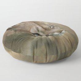 Puma profile Floor Pillow