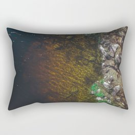 Summer Lake - Aerial Photography Rectangular Pillow