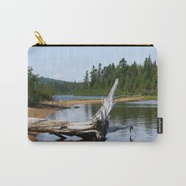 Peacefull Lake in Canada Carry-All Pouch
