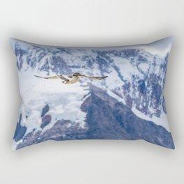 Austral Patagonian Bird Flying Rectangular Pillow