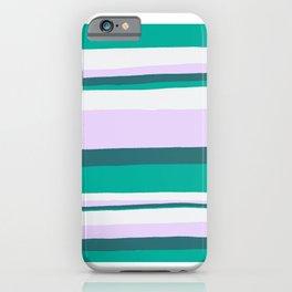 Hermosa, sunset stripes iPhone Case