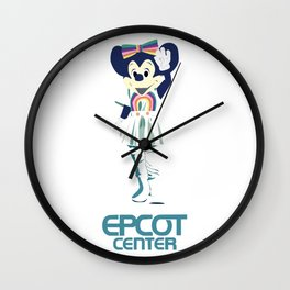 Clap Your Hands Minnie Wall Clock
