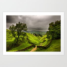 In England's green and pleasant land Art Print