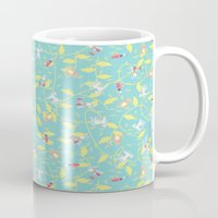 fairytale Mugs featuring Fairytale by Livia Rett