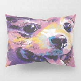 Fun Pomeranian Dog bright colorful Pop Art Pillow Sham