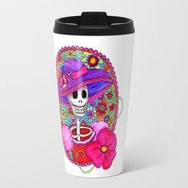 Catrina Doña Beatriz Travel Mug