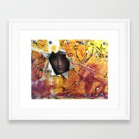 rio Framed Art Prints featuring Rio by Bruce Stanfield