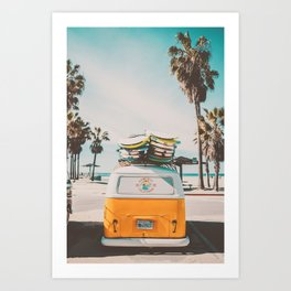 Coming Home to California Art Print