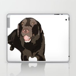 Labrador dog (black) Laptop & iPad Skin