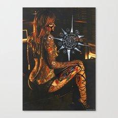 Psychoactive Bear 3 Canvas Print