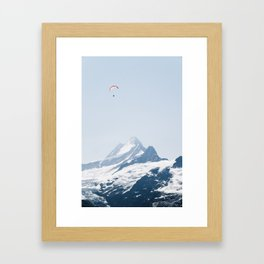 Grindelwald First – Switzerland Framed Art Print