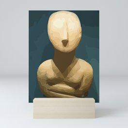 Cycladic 1 Mini Art Print