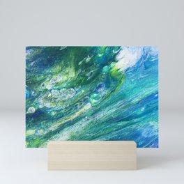 Green Seas Mini Art Print
