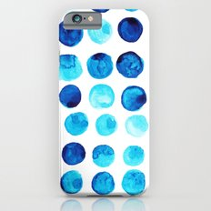 Blue dots Slim Case iPhone 6s