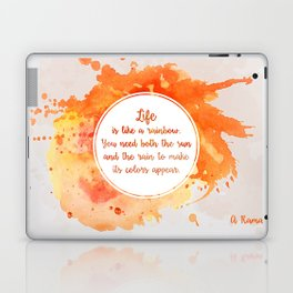 A. Ramaiya's quote Laptop & iPad Skin