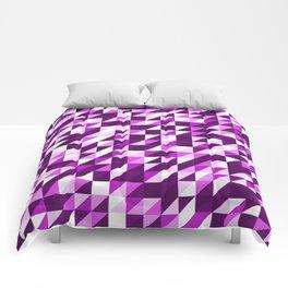 Purple Patchwork Comforters