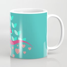 Be Beautiful - Be Colourful Peacock Coffee Mug