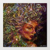 medusa Canvas Prints featuring Medusa.... by shiva camille