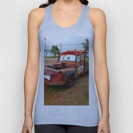 Tribute Build to Tow Mater Unisex Tank Top