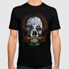 Room Skull Black X-LARGE Mens Fitted Tee
