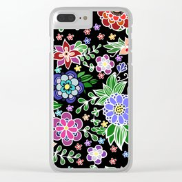 Summer pattern Clear iPhone Case