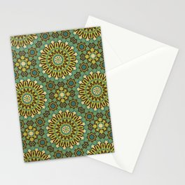 Alhambra Double Star Pattern Stationery Cards