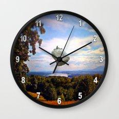 Mountain House Wall Clock