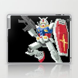 8-bit Gundam Laptop & iPad Skin