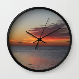 Sun and Sea Wall Clock