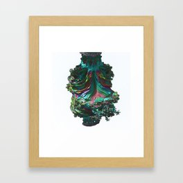 Abstract Fractals Number 35. Framed Art Print