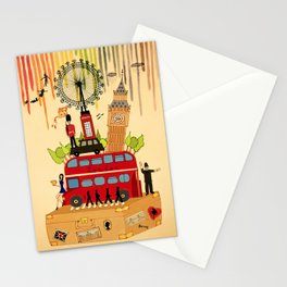 Rainbow Cities ~ London Stationery Cards