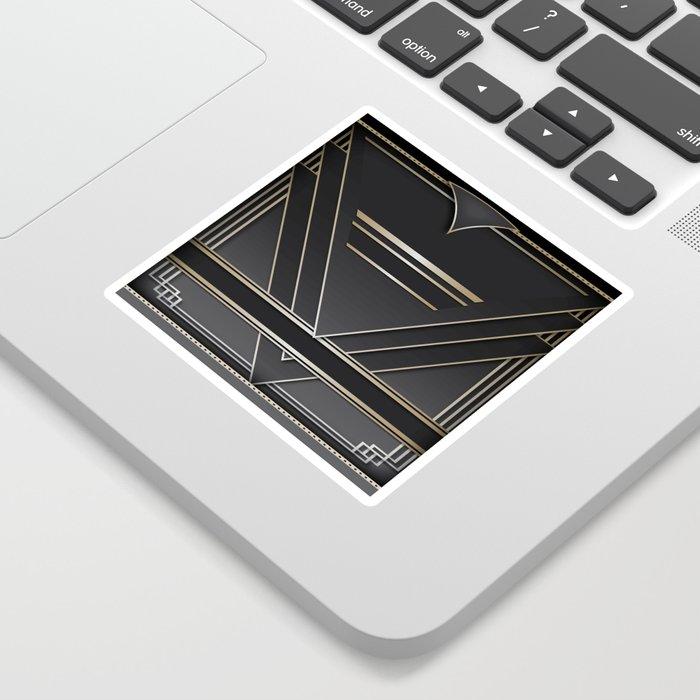 Art deco design IV Sticker