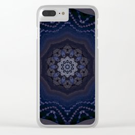 crystal star Clear iPhone Case