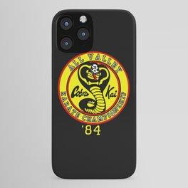 cobra kai karate clan iPhone Case