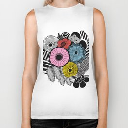Heart in Flowers, inspired by Marimekko Biker Tank