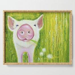 Piggy Serving Tray