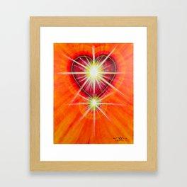 Love is... Light Framed Art Print