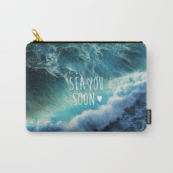Sea you soon Carry-All Pouch