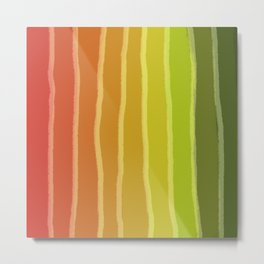 Vertical Color Tones #1 Metal Print